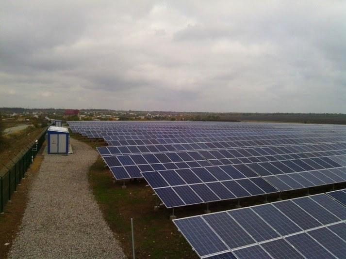 Солнечная электростанция по зеленому тарифу в Одессе
