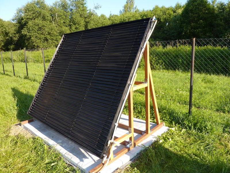 черное полотно для монтаж солнечного коллектора