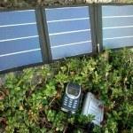 Виды Солнечная батарея для зарядки телефона
