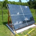 стекло монтаж солнечного коллектора своими руками