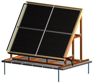 Как изготовить солнечный коллектор своими руками 16
