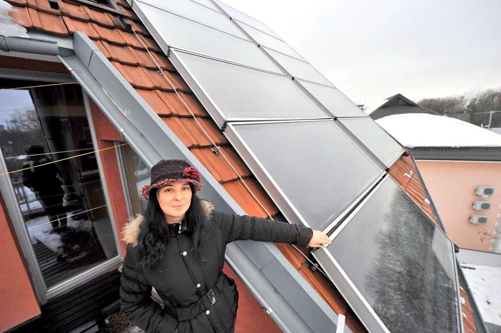 Житель Украины получает прибыль от солнечных установок превышающую 4000 грн.
