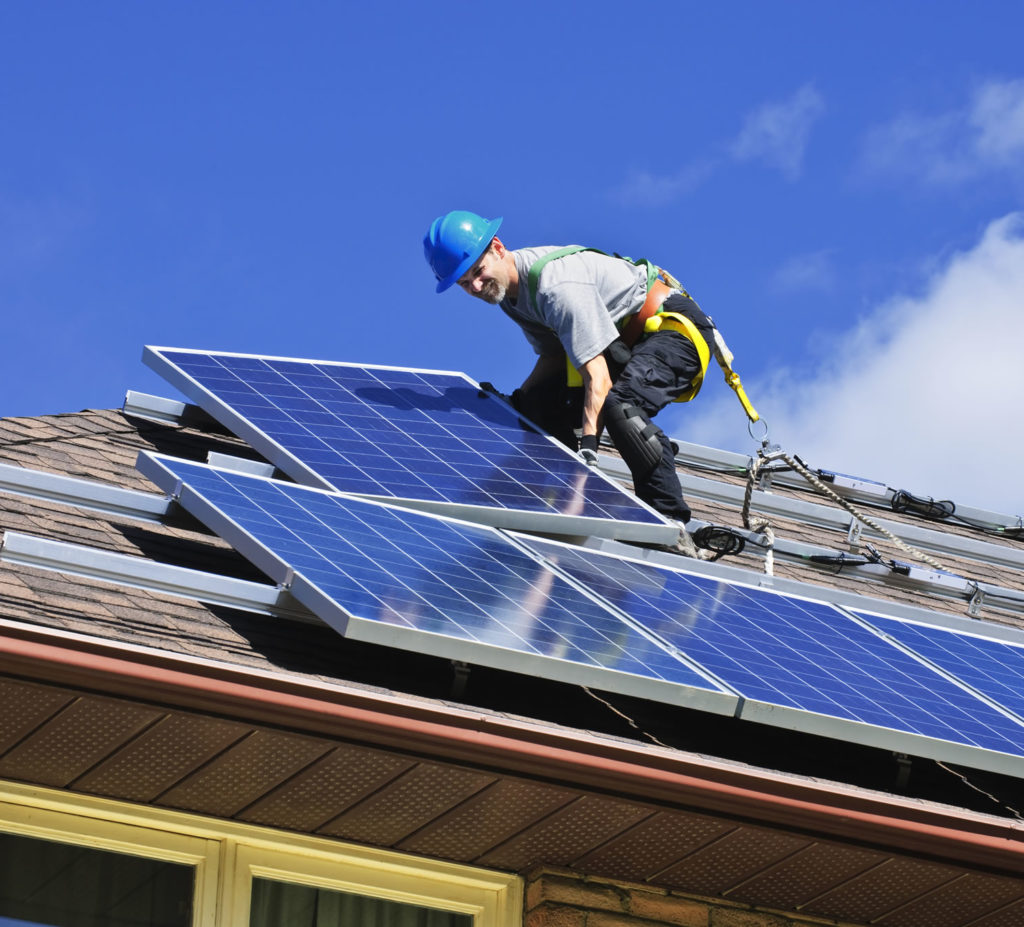 Профессиональный монтаж солнечных батарей