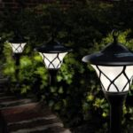 газонные светильники на солнечных батареях