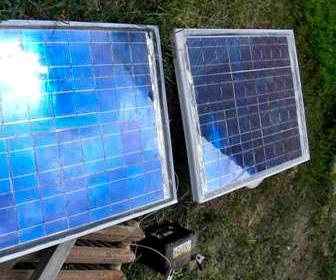 готовая солнечная батарея своими руками