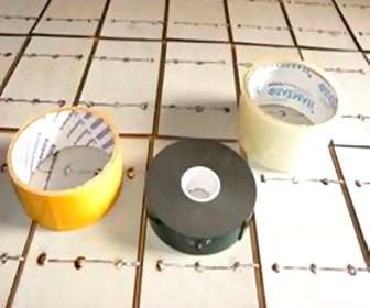 Двухсторонний скотч солнечная батарея