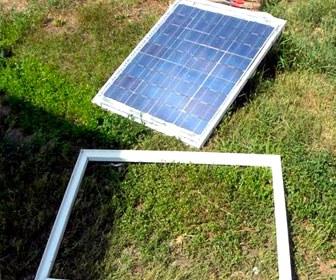рамка для солнечной батареи