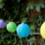 Гирлянда на солнечных батареях шар