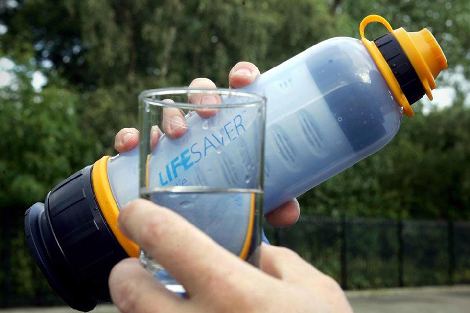 портативный фильтр для воды – спортивная бутылка!