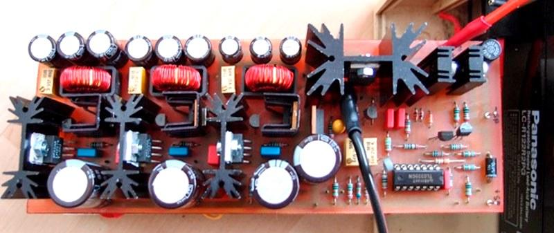 готовый контроллер заряда своими руками