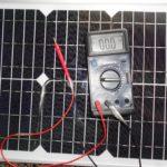 Как проверить солнечную панель