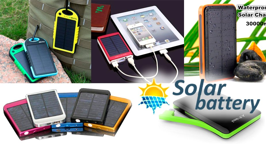 Обзор PowerBank на солнечных батареях