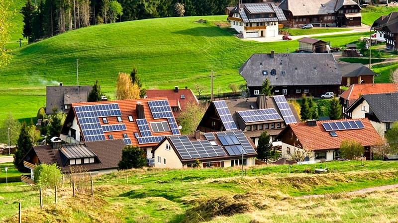 популярность солнечных батарей в Германии