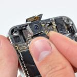 Как заменить камеру на iPhone 5?