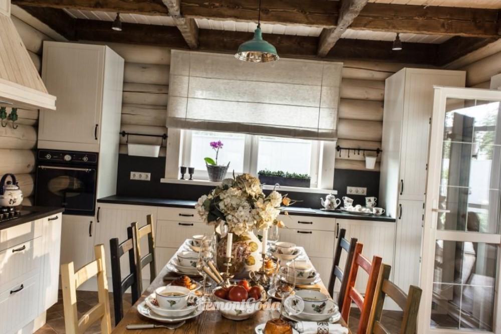 Ремонт кухни на даче