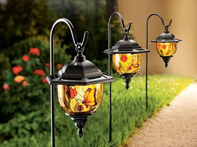 светильники для огорода фото находится пруд, помощью