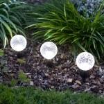 подсветка Садовые светильники на солнечных батареях