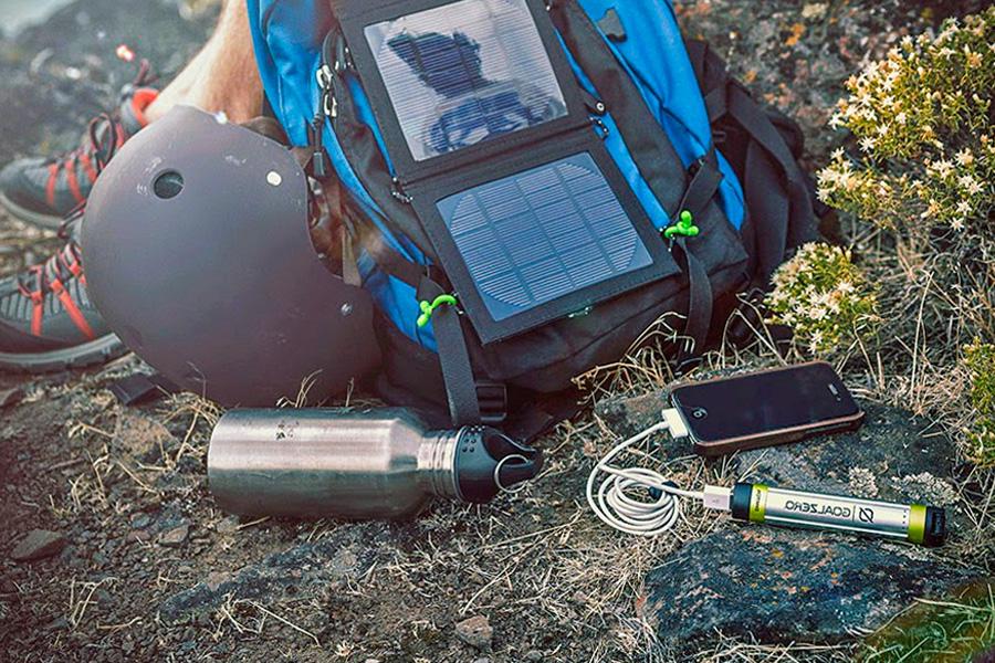 солнечную батарею для зарядки ноутбука