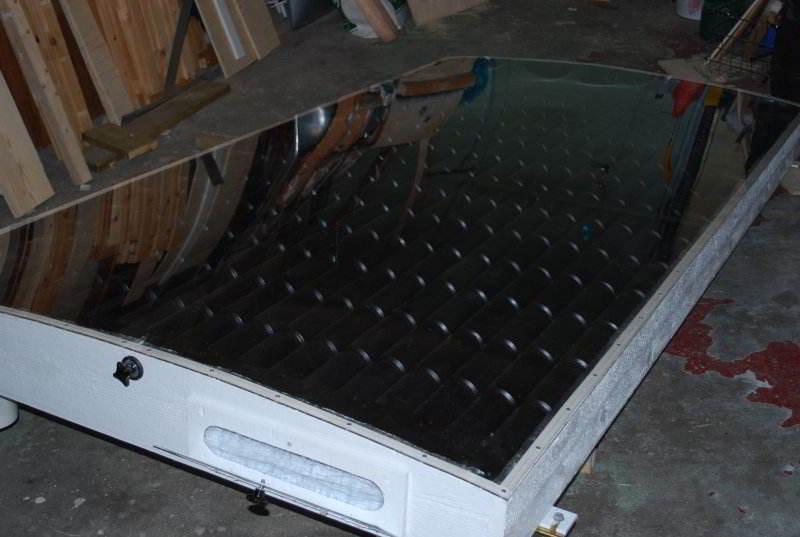 Солнечный коллектор своими руками алюминиевых банок