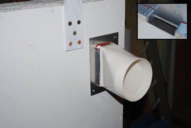 Вентиляционные отверстия колектора