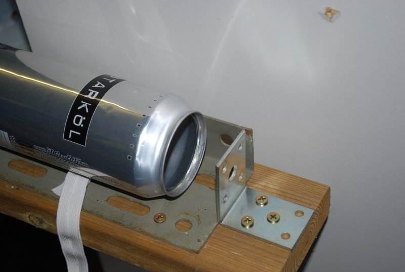 склеивание пивных банок для солнечного коллектора
