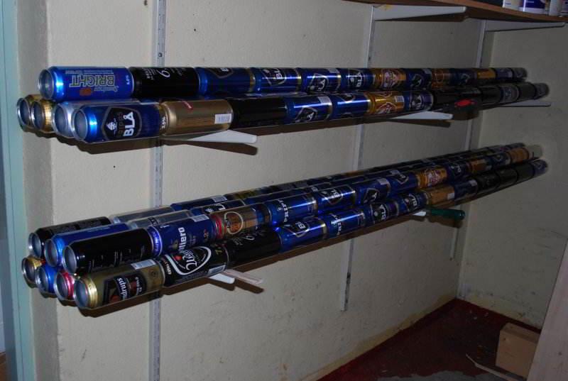 готовые трубы из пивных банок для солнечного коллектора своими руками