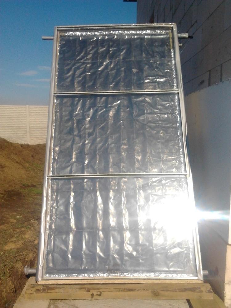 Солнечный коллектор перед установкой