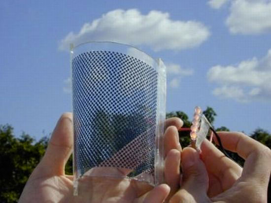 Прозрачные солнечные батареи фасадные