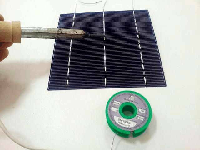 сборка солнечных панелей