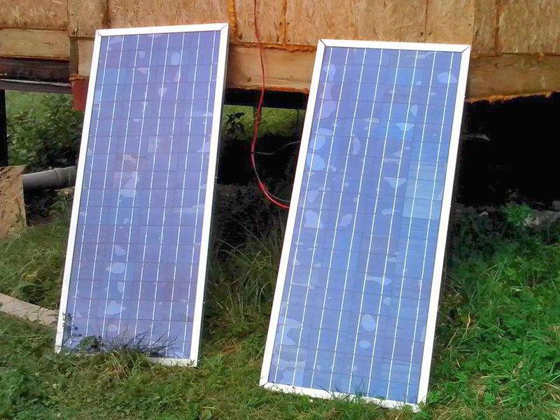 Солнечные батареи своими руками для частного 30