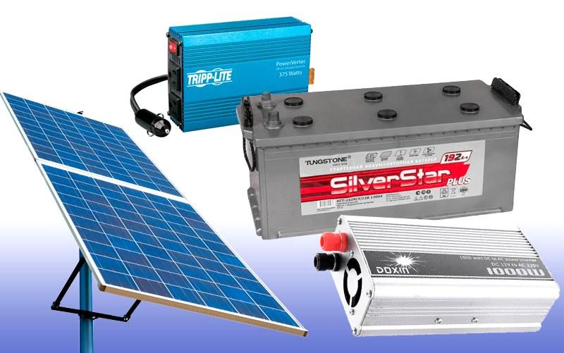 Комплектация солнечной батареи своими руками
