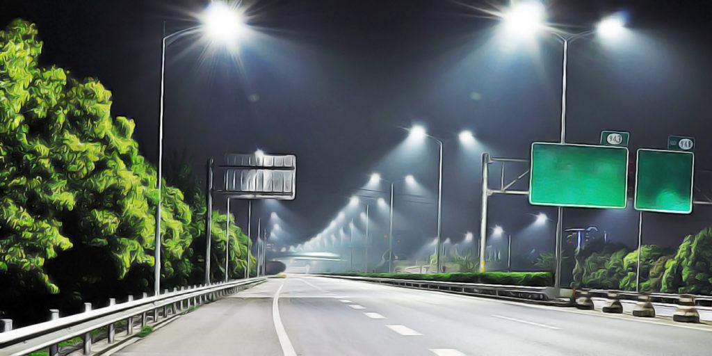 магистральных светодиодных светильников