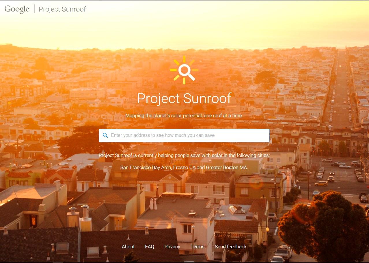 Подсказки Google: Окупится ли установка солнечных панелей