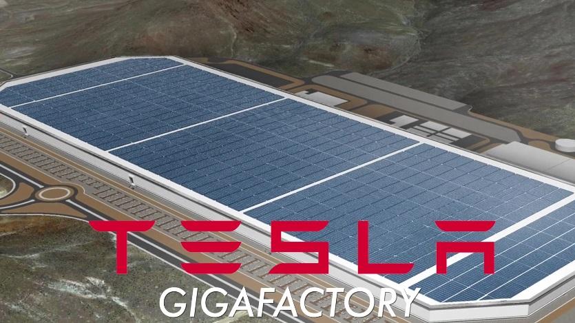 открытие «гигафабрики» Tesla