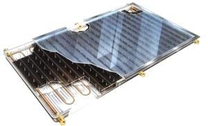 Плоские солнечные коллекторы  водонагреватели